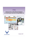 Protocol for Bioremediation of Chlorinated Solvents Using Edible Oil In Situ